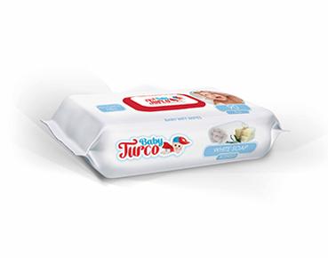 Baby Turco Beyaz Sabun Kokulu Islak Havlu