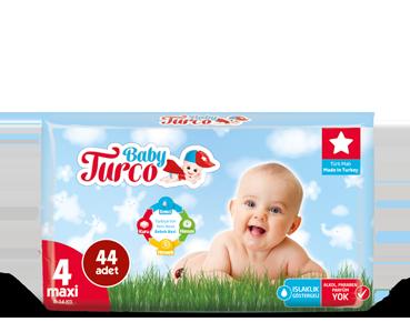 Baby Turco Maxi 4 Beden Bebek Bezi