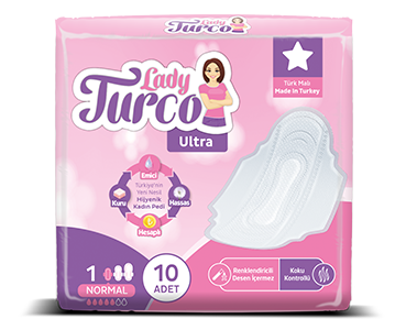 Lady Turco Ultra Normal Hijyenik Ped