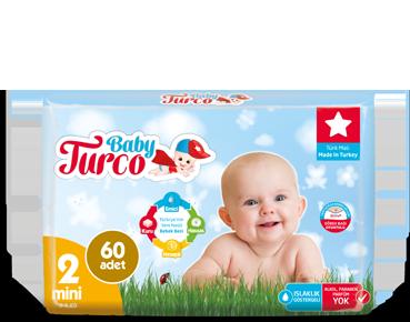 Baby Turco Mini 2 Beden Bebek Bezi